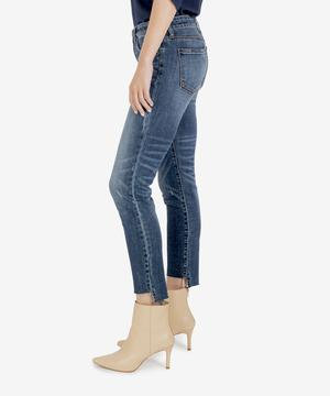 Reese Ankle Straight Leg Distressed
