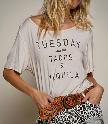 TuesdayTacos Tequila Tee