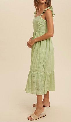 Sweet Pea Eyelet Dress