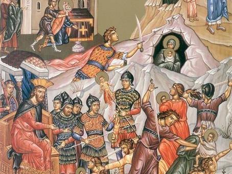 First martyred children in Bethlehem