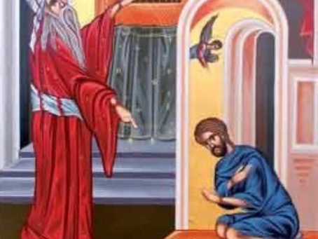 The Sunday Of The Publician And The Pharisee