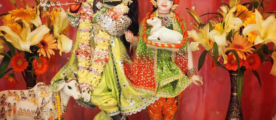 Darshan - 22.11.2020 (Sri Radhika Carana Darshan)