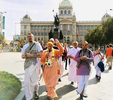 Srila BS Muni Maharaj in Prag