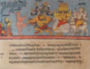 Bhagavata_Purana_manuscript,_18_century.