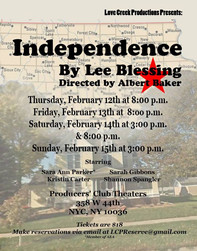 """""""Independence"""", by Lee Blessing"""