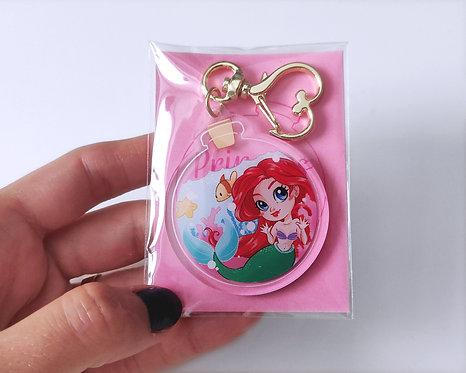 Ariel in a Bottle - Acrylic Charm