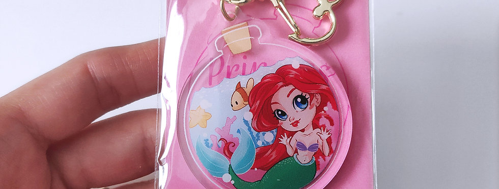Ariel in a Bottle - Acrylic Charm