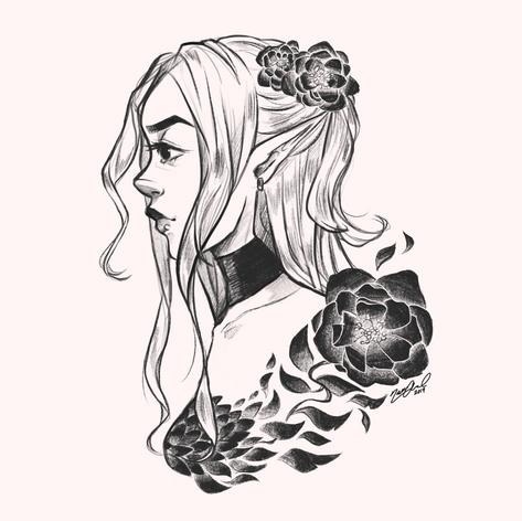 Flower in Profile