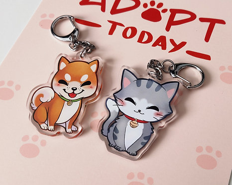 Doge & Cate - Acrylic Charms
