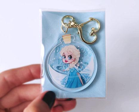 Elsa in a Bottle - Acrylic Charm