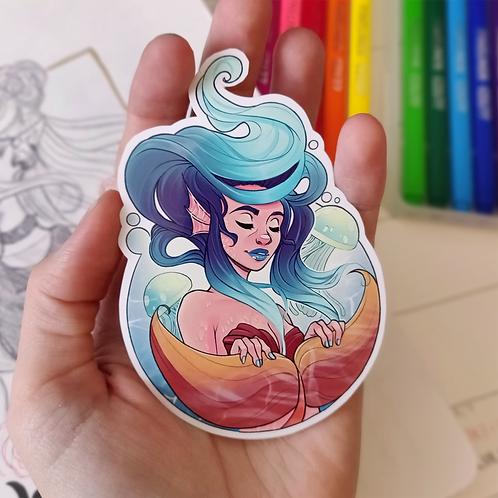 The Mermaid - Vinyl Sticker