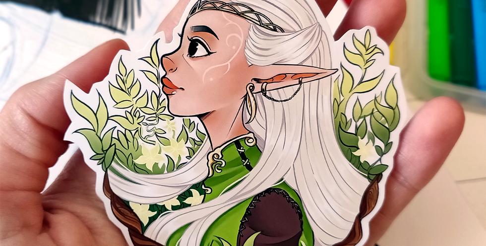 The Elf - Sticker