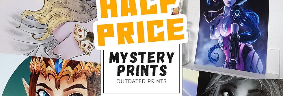 HALF PRICE Mystery Prints