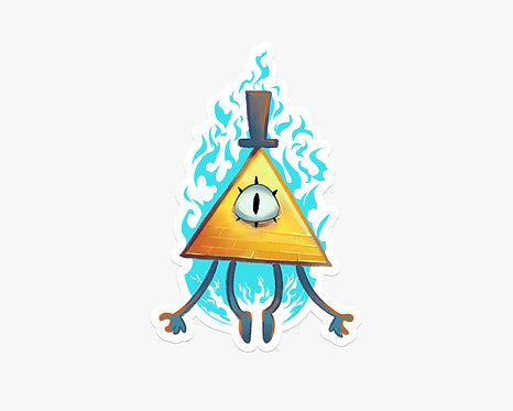 Bill Cipher - Vinyl Sticker