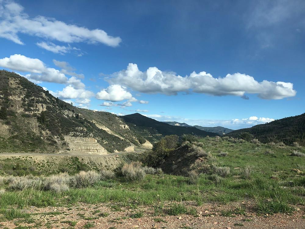 Mountain image taken in Dinosaur National Park, UT.