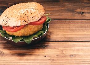 Tendência gastronômica nos restaurantes: Hambúrguer vegano