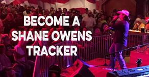 Get Instant Updates on Shane Owens Shows