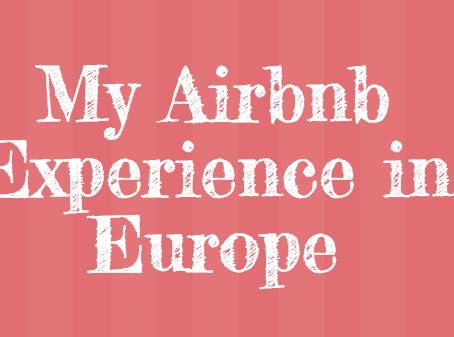 住宿分享 我在歐洲住過的Airbnb