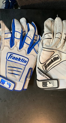 Signed Game Used Batting Gloves