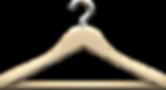 Деревянная вешалка одежды