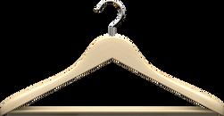 Houten kleding hanger