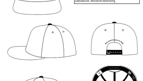 Weisses Cap