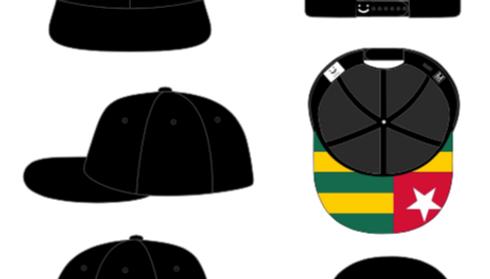 Schwarzes Cap