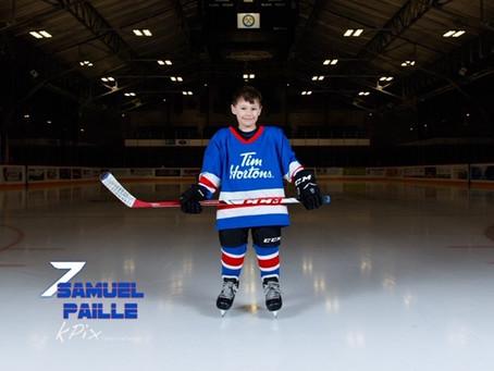 Meet Samuel Paille - Restore's Timbits Athlete.