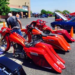 Bike show at Chi-Town Harley