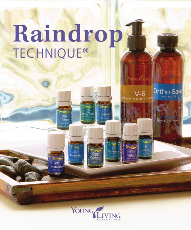 Raindrop Therapy ~ (w/ Essential Oils)