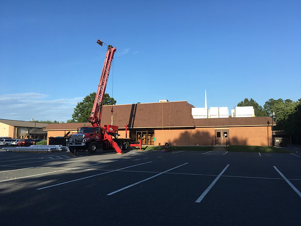 Easton Church of God Roof Project