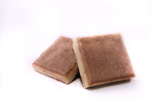 Rose with Blackberry Seed Exfoliating Soap Bar:
