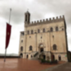 We spent a beautiful rainy day in Gubbio