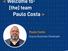 Paulo Costa é agora Oracle Business Developer da Oramix