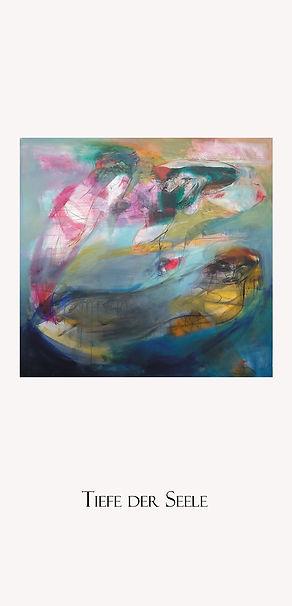 Flyer Tiefe der Seele von Obaidah Zorik