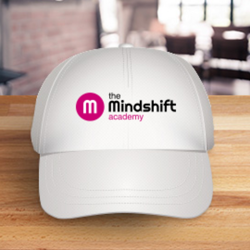 Mindshift academy branded baseball cap