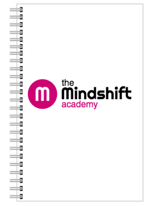 Mindshift academy branded journal