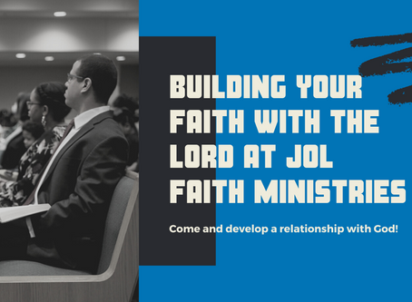 Building Your Faith With the Lord...