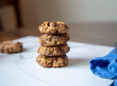Honey Roasted Peanut Butter Cookies