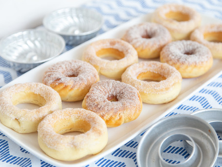Baked Yeasted Donuts