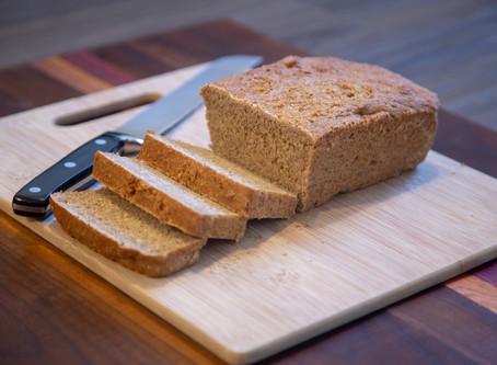 Whole Wheat Chickpea Bread