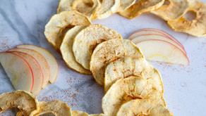 Dried Apples with Cinnamon