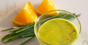 Orange Chive Salad Dressing