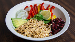 Peanut Protein Noodles