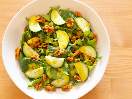 Roasted Walnut Salad