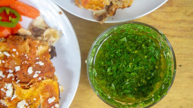 Cilantro Mint Salsa