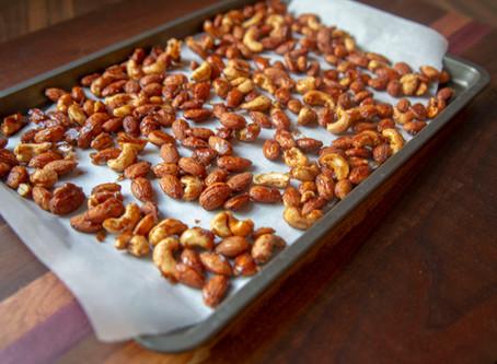Espresso Spiced Nuts