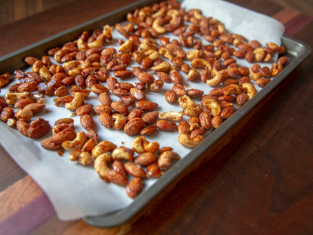Espresso Spiced Nuts