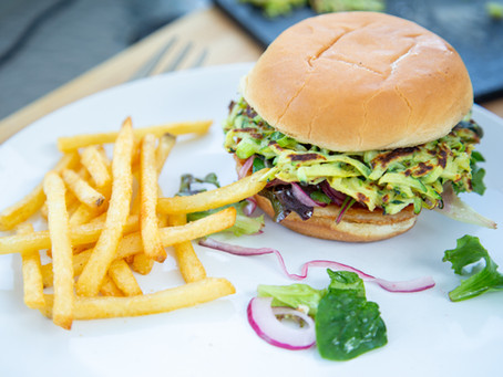 Veggie, Halloumi Burgers