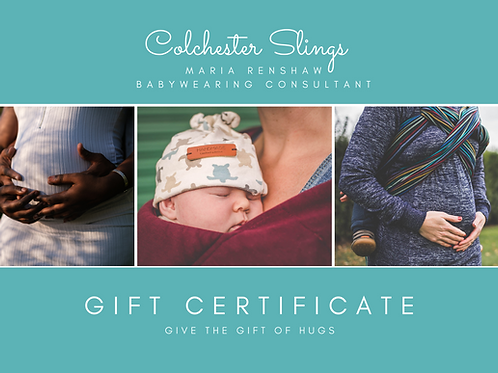 Bump to Baby package gift certificate